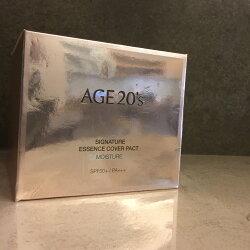 韓國 2018 新品 愛敬 AGE20's 水光精華遮瑕濕潤 逆齡無痕 安瓶水粉餅(櫻花粉)