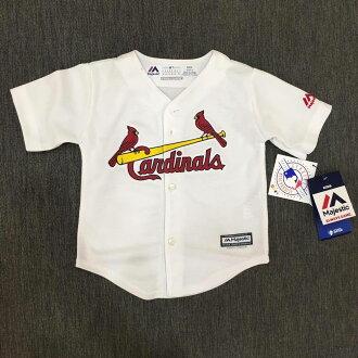 【蟹老闆】Majestic 孩童 棒球球衣 大聯盟 MLB 聖路易紅雀 Saint Louis Cardinals 2T~4T