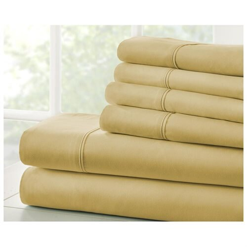 Home Collection Premium Ultra Soft 6 Piece Bed Sheet Set 1
