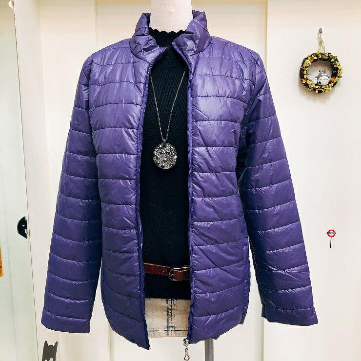 超取免運 紫 防潑水 防水 防風 鋪棉 連帽 刷毛 保暖 外套 夾克 大衣 女裝 女 女生