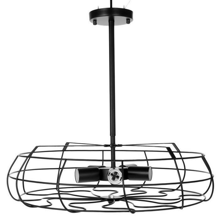 Industrial Vintage Style Metal Fan Pendant Lamp Steampunk Ceiling Chandelier Light 5