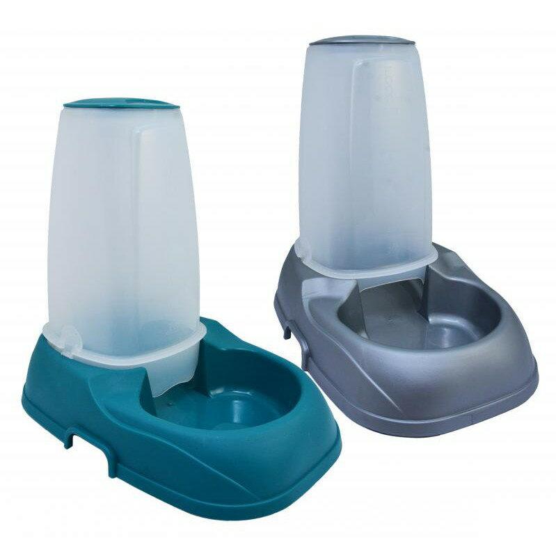 [P1133] PP飲飼兩用碗 寵物自動餵食器 自動飲水器