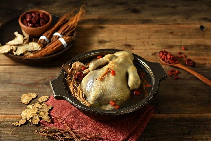 人蔘土雞湯(全雞2.5kg/盒)