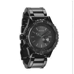 NIXON 潮流黯黑流行腕錶/小碼/A035-1150
