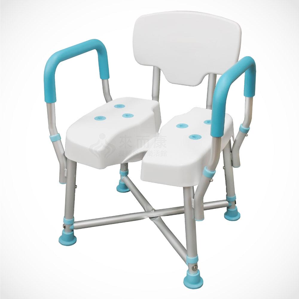 全方位洗澡椅 JY-309 鋁合金 免工具便拆扶手