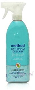 【彤彤小舖】MethodBathroomCleaner浴廁天然清潔劑-尤加利薄荷828ml美國製造