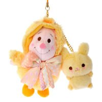 小熊維尼周邊商品推薦日本直送 東京Disney Store 2016年 Easter Kitsch復活節限定 維尼小豬吊飾