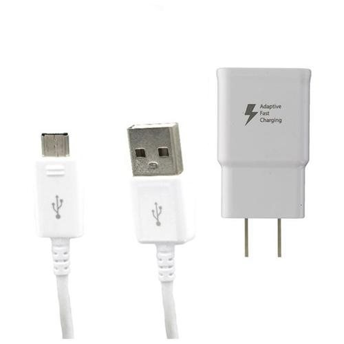Samsung Fast Charger- EP-TA20JWE & Micro USB Cable S7/Edge S6/Edge Note 4 63a289664c7665c01664af689c668bd9