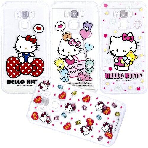 【Hello Kitty】ASUS ZenFone 3 Max 5.5吋 ZC553KL 彩繪空壓手機殼