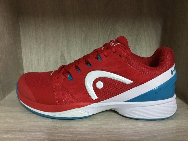 2017HeadNitroPro專業男紅土網球鞋