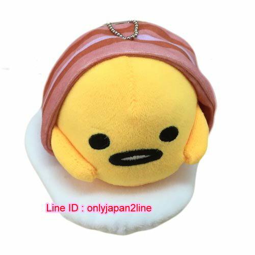 【真愛日本】16111100012吊娃-6吋培根蛋黃哥  三麗鷗家族 蛋黃哥 Gudetama  娃娃 玩偶