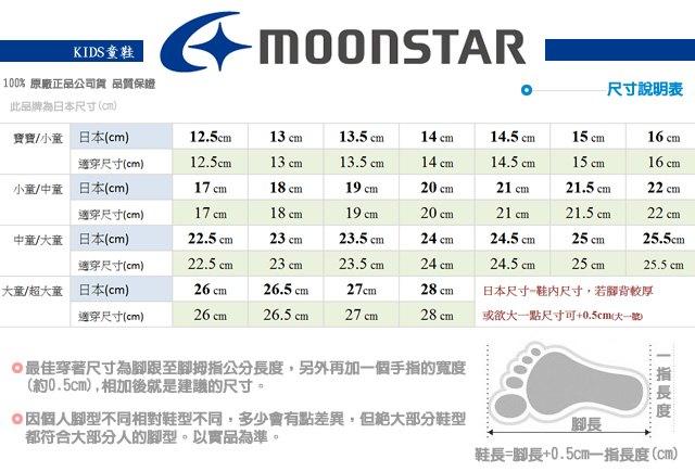 日本月星頂級童鞋 四大機能抗菌運動鞋款-MSC216635深藍(中小童段) 7