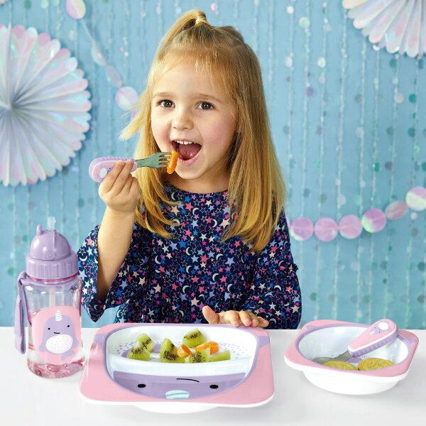 美國SKIP HOP 可愛動物園餐具叉及匙 / 叉匙組 (2款可選) 5