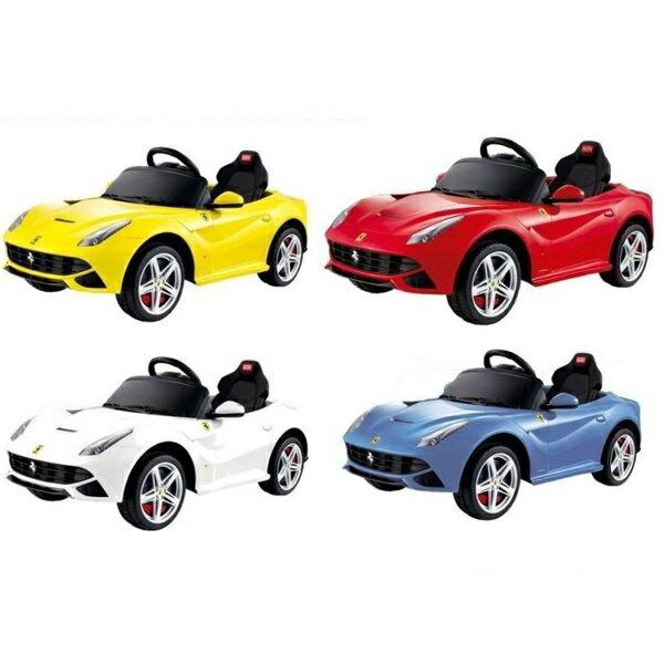 【淘氣寶寶】Ferrari 法拉利 F12 電動車【贈Kids II-Oball 洞動直昇機】