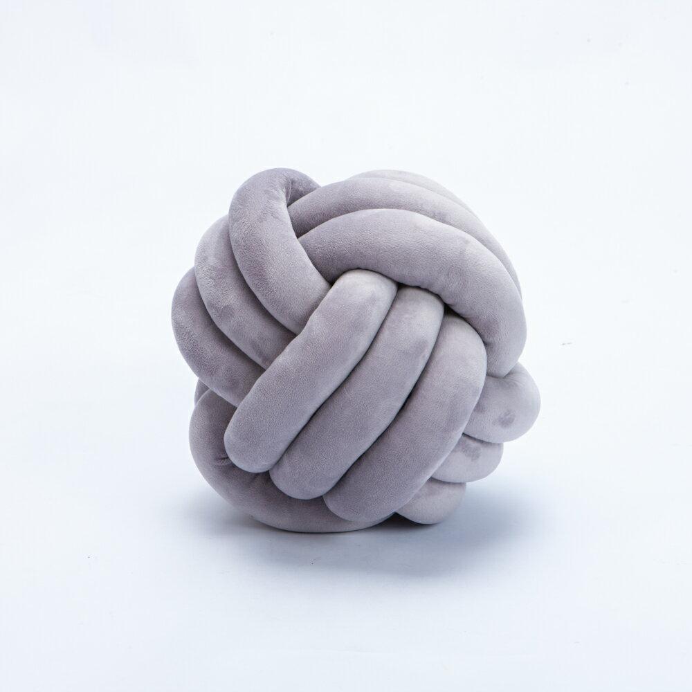 和煦拼織球球抱枕-生活工場