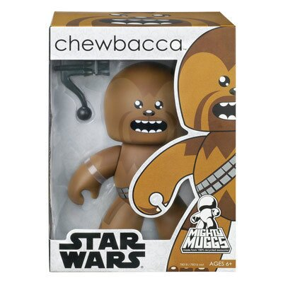 【Playwoods】《公仔模型王》[StarWars/星際大戰/星球大戰]Mighty Muggs-秋巴卡 丘巴卡 邱巴卡 Chewbacca