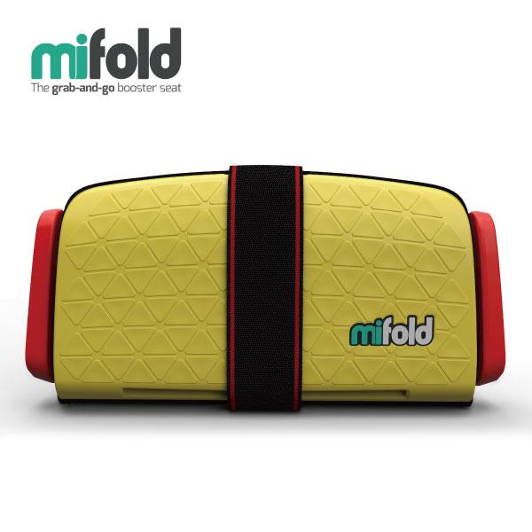 美國 mifold 隨身安全座椅(新款) / 汽座-黃(4-12歲適用)【總代理公司貨】好窩生活節 - 限時優惠好康折扣