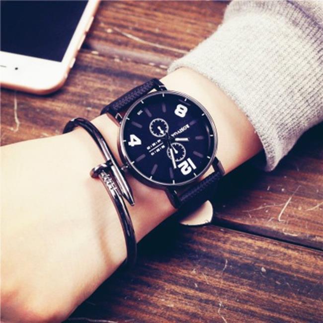 50%OFF SHOP【H019048WAH】韓國ulzzang原宿風手錶個性創意皮帶韓版復古歐美青年男女學生BF