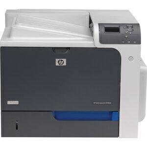 HP LaserJet CP4000 CP4525N Laser Printer - Color - 1200 x 1200 dpi Print - Plain Paper Print - Desktop - 42 ppm Mono / 42 ppm Color Print - Letter, Legal, Executive, Postcard, Envelope No. 10, Envelope No. 9, Monarch Envelope, Statement - 600 sheets Stand 1