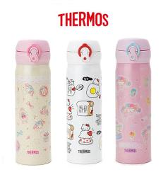 【百倉日本舖】日本進口 膳魔師 THERMOS 美樂蒂/Kitty/小雙星不鏽鋼保溫杯 保溫瓶500ml