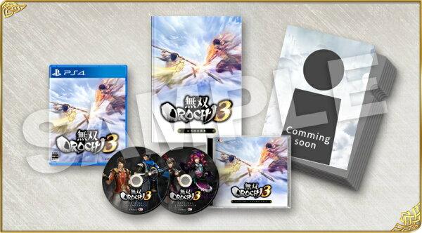 預購中9月27日發售中文版[輔導級]PS4無雙OROCHI蛇魔3珍藏盒版