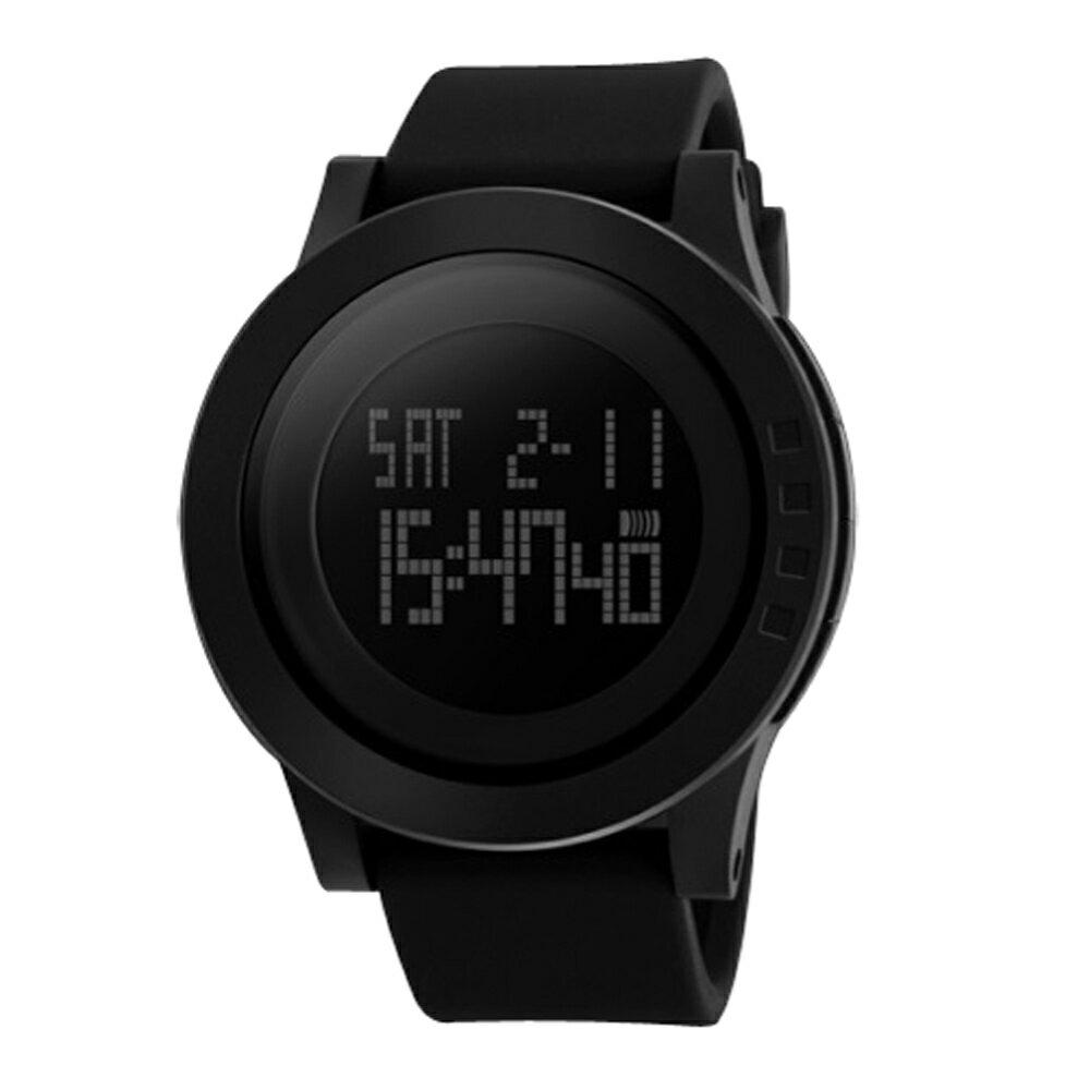 SKMEI時刻美 1142 酷炫螢光色大錶盤防水電子錶 1