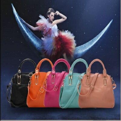 * Anne&Alice 包包購 *~英倫風時尚獨特包款手提包側肩包( 附長背帶 )~多色可供選擇~*
