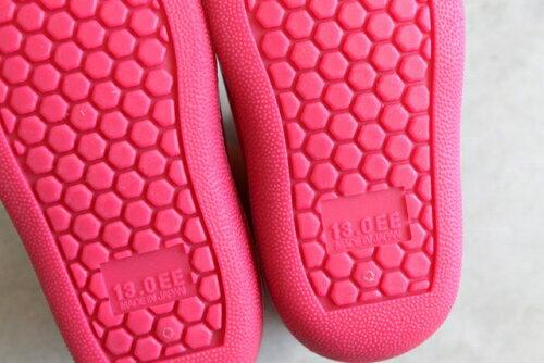【本月贈鞋墊】日本【Stample】兒童雨鞋(蜜桃紅) 2
