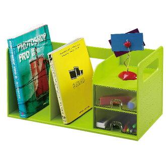 【雙鶖牌 FLYING 書架】42300 超大型創新書架整理盒/書檔