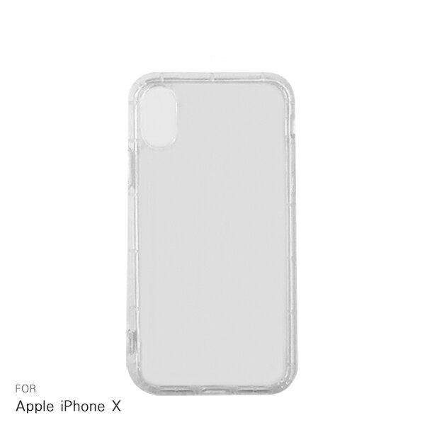 強尼拍賣~Apple iPhone X 氣墊空壓殼 透明殼 保護殼 空壓殼