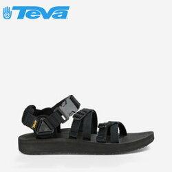 《台南悠活運動家》【TEVA】美國 男款 Alp Premier 經典設計織帶涼鞋 1015200 BLK 黑色