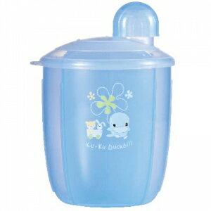 『121婦嬰用品館』KUKU 花樣四格奶粉罐 1