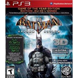 PS3 Batman蝙蝠俠:阿卡漢療養院小丑大逃亡 年度紀念完整特別版-英文版-
