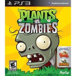 PS3 植物大戰殭屍 Plants VS Zombies ~英文美版~