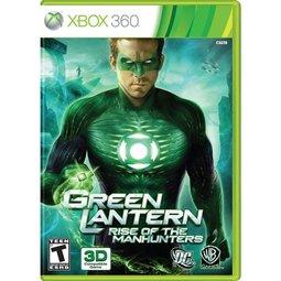 XBOX 360 綠燈俠綠光戰警:狩獵者機械人的崛起 Green Lantern: Rise of the Manhunters(支援2種3D 附3D眼鏡) -英文美版-