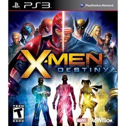 PS3 X戰警:天命 X-MEN Destiny -英文美版-