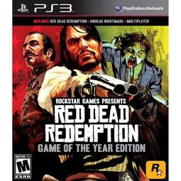 PS3 碧血狂殺:年度紀念特別完全完整版 -英文紅盒美版- Red Dead Redemtion