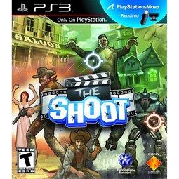 PS3 The Shoot 槍戰開麥拉(MOVE必須) -英文美版-