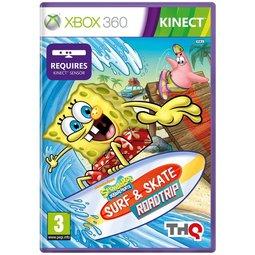 XBOX 360 SpongeBob 海綿寶寶衝浪去(Kinect必須)Surf and Skate RoadTrip -英文版-