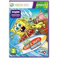 海綿寶寶週邊商品推薦XBOX 360 SpongeBob 海綿寶寶衝浪去(Kinect必須)Surf and Skate RoadTrip -英文版-