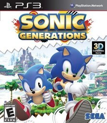 PS3 音速小子:新世代 純白時空 Sonic:Generations(支援3D) -英日文紅盒美版-