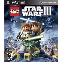 PS3 Lego Star Wars3:Clone War 樂高星際大戰3:複製人之戰-英文版-