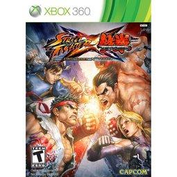 XBOX 360 快打旋風X鐵拳漫畫特別版 Street Fighter X Tekken -英日文美版-