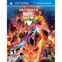 漫威英雄Marvel 周邊商品推薦PSV PS VITA 終極究極美國英雄VS卡普空3加強版 Ultimate Marvel vs Capcom 3 -英文美版-