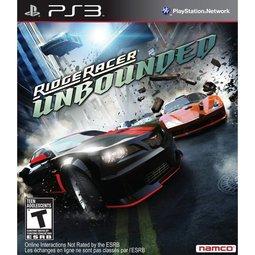 PS3 實感賽車:無限(脫韁狂飆) Ridge Racer:Unbounded -英文亞版-