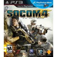 索尼推薦到PS3 SOCOM 4:美國海豹特遣隊4 (相容3D顯示與MOVE)- 英文紅盒美版-