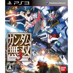 2097 電玩玩具公仔舖:PS3鋼彈無雙3GundamMusou3-日文純日初回版-