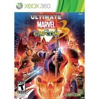 漫威英雄Marvel 周邊商品推薦XBOX 360 終極美國英雄VS卡普空3加強版 Ultimate Marvel vs Capcom 3 -英日文美版-