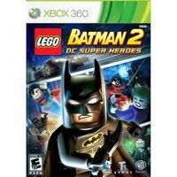蝙蝠俠與超人周邊商品推薦XBOX 360 樂高蝙蝠俠 2:DC 超級英雄 Lego Batman 2:DC Super Heroes -英文版-