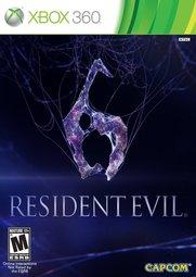 XBOX 360 惡靈古堡6 Biohazard 6 Resident Evil 6-英文版-